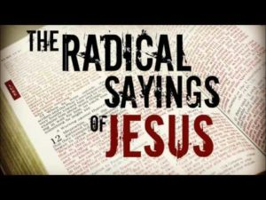 A Radical Jesus